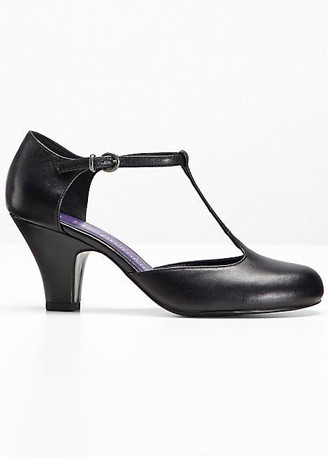 t bar leather shoes by bonprix witt international
