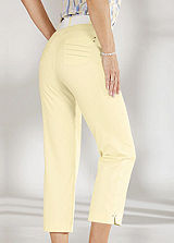 Crease Resistant Cropped Trousers