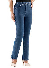 Extra Stretch Straight Leg Jeans