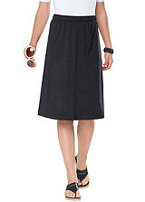 Jersey A-Line Skirt