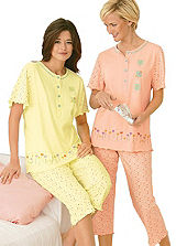 Pack of 2 Capri Pyjamas