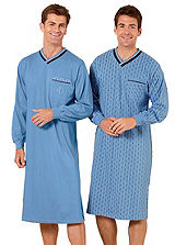 Pack of 2 Long Sleeved Nightshirts