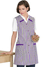 Patterned Pinafore Apron