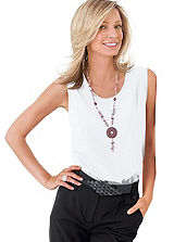 Sleeveless Vest Top