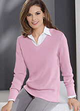 V-Neck Easy Care Jumper