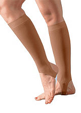 Womens Knee High Support Socks