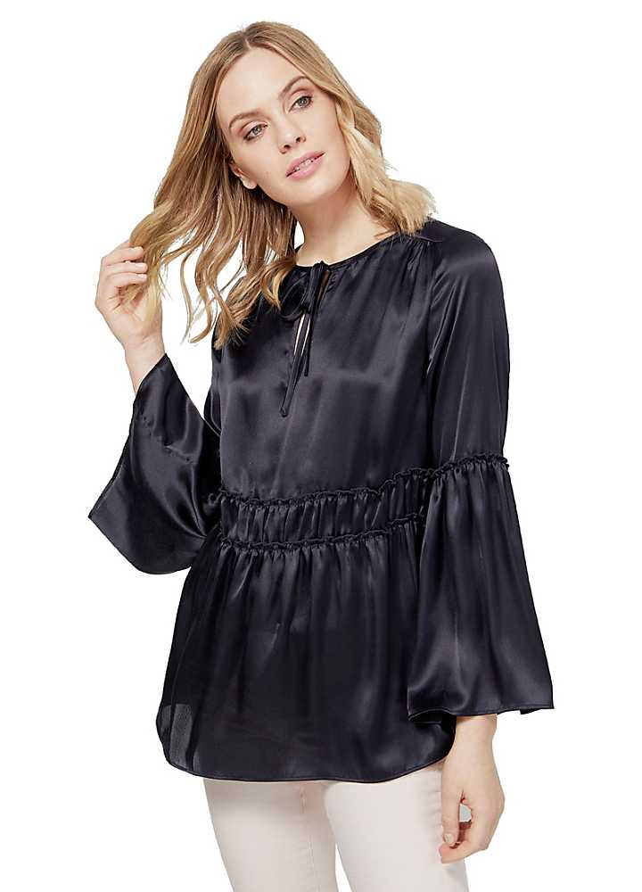 Front Apron : Home Button Front Tunic Pinafore Apron