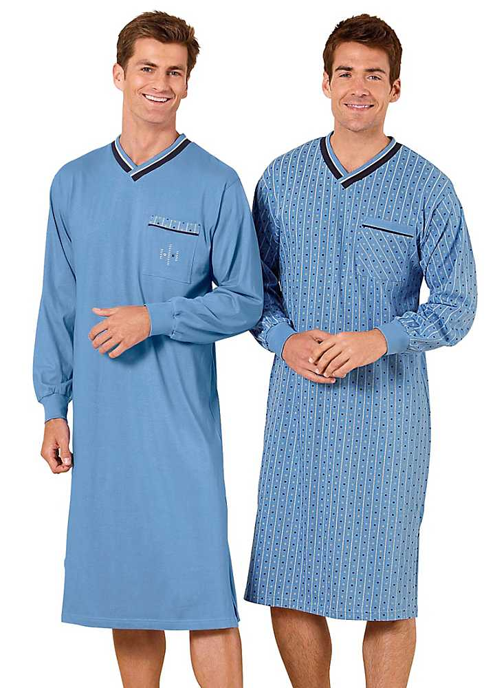 Nylon nightgowns for men